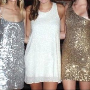 Alice+Olivia sequin party dress